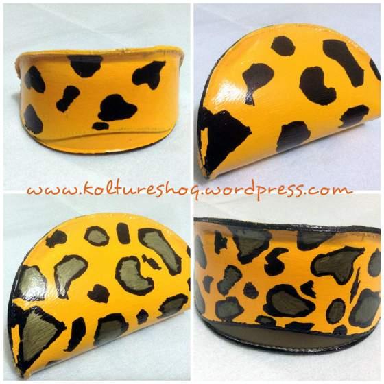 DIY Leopard Print Clutch 6