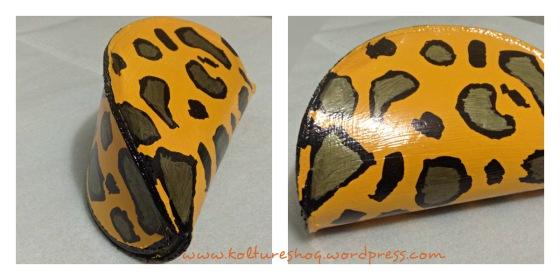 DIY Leopard Print Clutch 7
