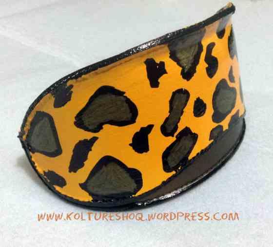 DIY Leopard Print Clutch