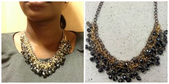 DIY Multistrand Chain and Bead Necklace 2