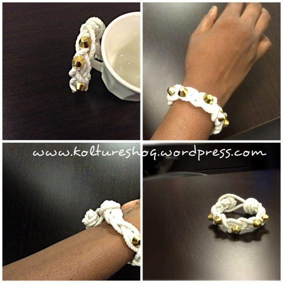 DIY Rope Bracelet 2