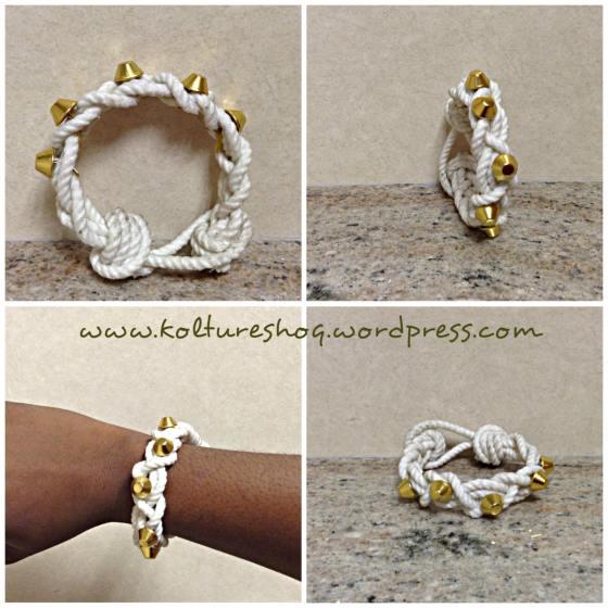 DIY Rope Bracelet 3